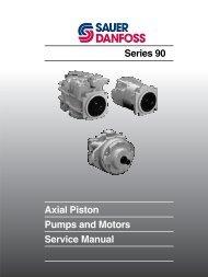 Axial Piston Pumps & Motors Series 90 Service - Sauer-Danfoss