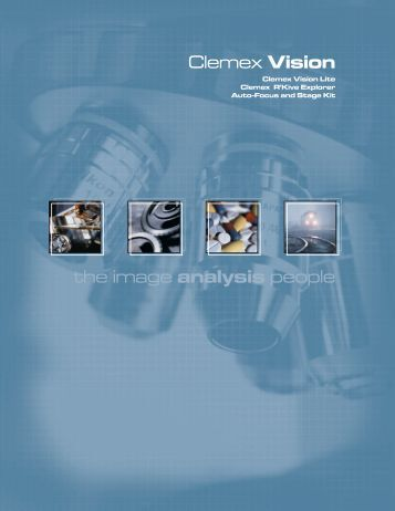 the image analysis people Clemex Vision