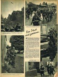 2 - 1940/1941 Westfeldzug  als Durchmarsch in der Propaganda. Teil 2 der Soldatenzeitung