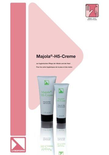 Majola®-H5-Creme - lysoform.ch