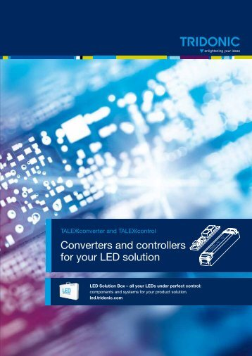 Converters and controllers for your LED solution