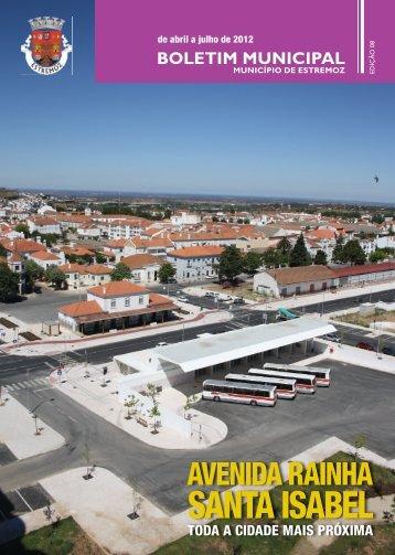 Boletim8 2012_08_08.indd - Câmara Municipal de Estremoz