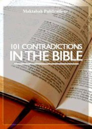 101 Contridictions in the Bible