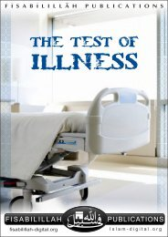 The Test of illness