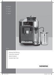 Gebrauchsanleitung Instruction manual Mode d'emploi Istruzioni per ...