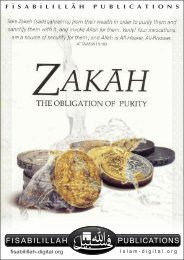Zakah - The Obligation of Purity
