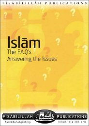 Islam - The FAQ - Answering the Issues