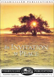 An Invitation to Peace