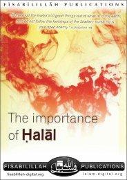 Importance of Halal