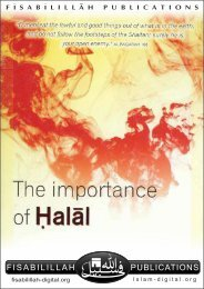 Importance of Halal