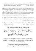 Ramadan Guide - Page 6