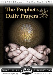 The Prophets Daily Prayers