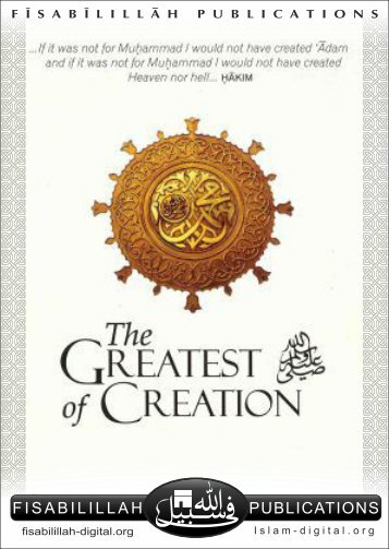 The Greatest of Creation