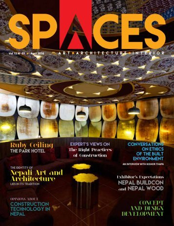 SPACES April 2016 Issue_23may(final)