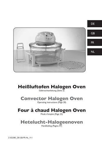 Hyundai Halogen Oven Instructions - WordPress.com
