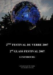 2 festival du verre 2007 2 glass festival 2007 - Art-glass-verre.com
