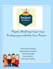 Rajutan eklusif karya tangan warga Surabaya yang memberikan kesan Premium (1)