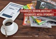 vERÄNDERTE MEDIA SPENDINGS - VDZ