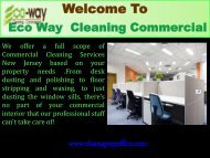 skilled office cleaners in New Jersey