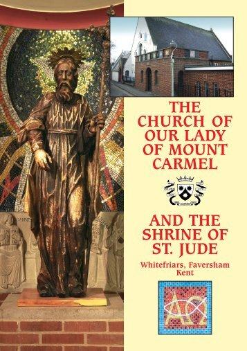 CARM SHRINE BOOKLET WEB - British Province of Carmelite Friars