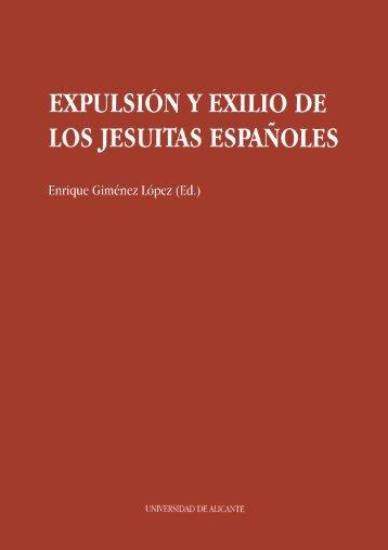 expulsi~ny exilio de los jesuitas españoles - E-Buc