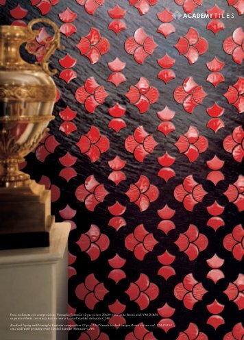 Posa realizzata con composizione Ventaglio ... - Academy Tiles