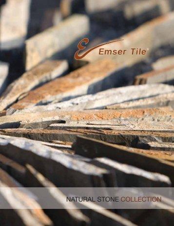 NATURAL STONE COLLECTION - Emser Tile