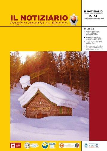 zuénocc de bién 2009 - Comune di Bienno