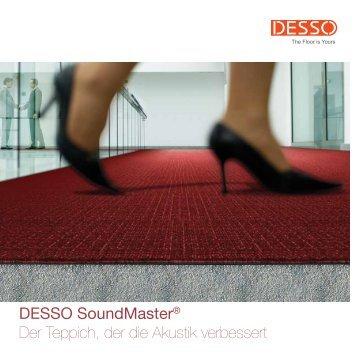 SoundMaster Brochure 2012 DE - Desso.com - EN :: DESSO