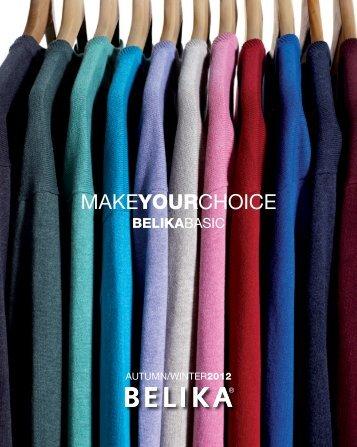 open autumn 12 basic catalogue - Belika
