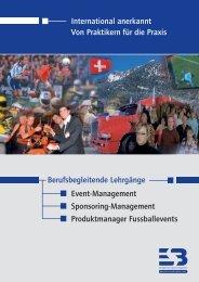 Referenten ua - ESB-online - Europäische Sponsoring-Börse