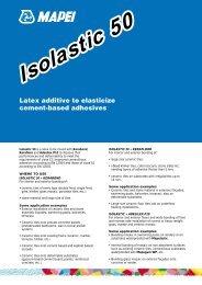 Isolastic 50 - Mapei