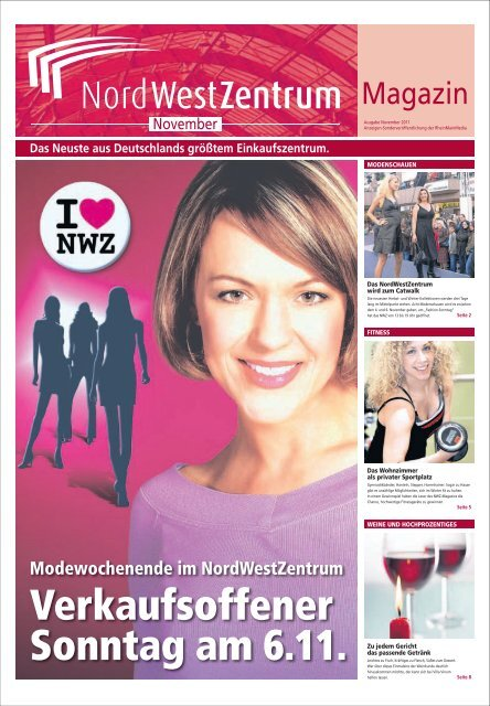 Unser November-Angebot: 4 Kreppel 1,99 € 5 ... - NordWestZentrum
