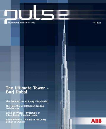 The Ultimate Tower – Burj Dubai - Busch-Jaeger Elektro GmbH
