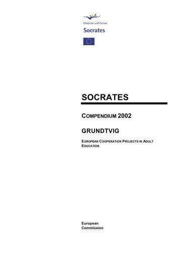 socrates compendium 2002 grundtvig - EACEA - Europa
