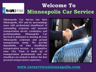 Limousine Services in Minneapolis
