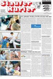"""""""gedopten"""" Kindern, viel Eifer und noch mehr Spaß - Stadt Waiblingen"""