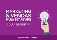 Marketing e Vendas para startups