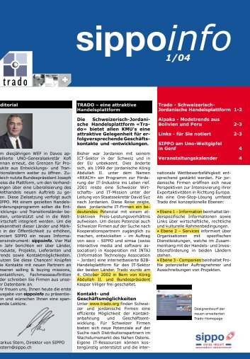 sippoinfo 1/04 - Business Location Switzerland