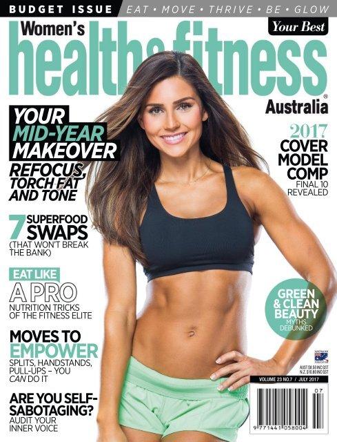 Womens Health Fitness Australia July 2017