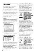 Sony BDP-S490 - BDP-S490 Mode d'emploi Serbe - Page 2