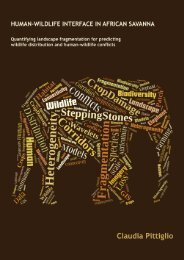 Identifying transit corridors for elephant using a long time- series