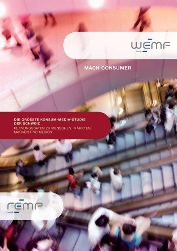 mach consumer - WEMF AG für Werbemedienforschung
