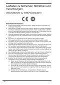 Sony VPCF13J8E - VPCF13J8E Documents de garantie Allemand - Page 6