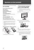 Sony KDL-46EX701 - KDL-46EX701 Istruzioni per l'uso Serbo - Page 4