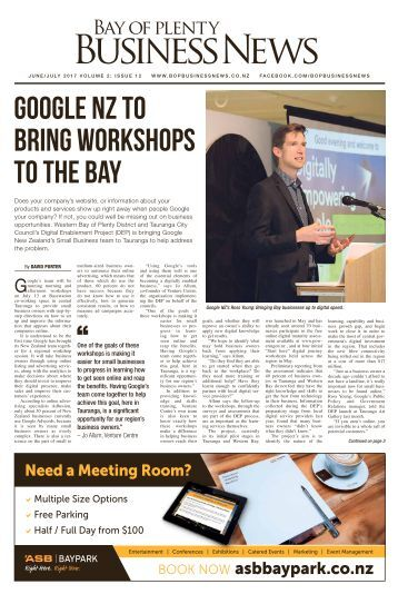 Bay of Plenty Business News June/July 2017