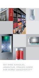 Broschüre (PDF-Dowload) - Vogel Sicherheitsanlagen GmbH