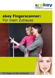 ekey Fingerscanner - Vogel Sicherheitsanlagen GmbH