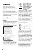 Sony BDP-S6200 - BDP-S6200  Roumain - Page 2