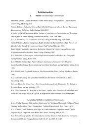Publikationsliste